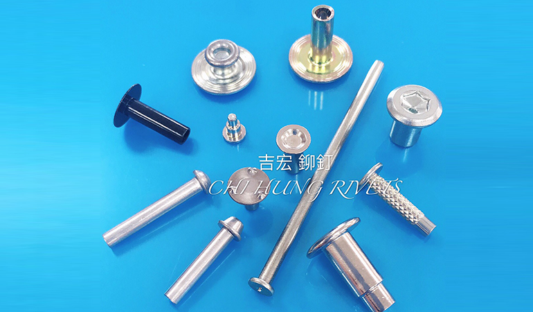 SEMI TUBULAR RIVETS / SHOULDER RIVETS / SOLID RIVETS / PIN